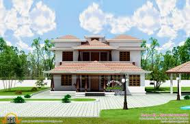 typical kerala traditional house home design floor plans