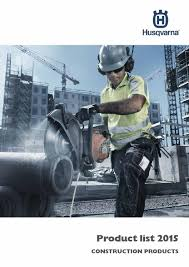 husqvarna construction products product list 2015 int by