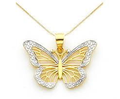 butterfly pendant necklace gold images Gold monarch butterfly necklace butterfly wedding butterfly jpg