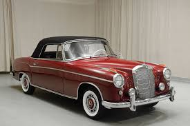 1960 mercedes for sale 1960 mercedes 220se cabriolet hyman ltd cars