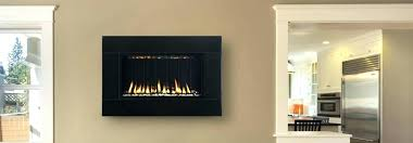 in wall gas fireplaces vented s wall mounted gas fireplaces canada