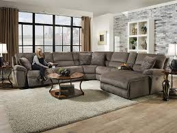 Seven Piece Reclining Sectional Sofa by Reilly Taupe Taupe 7 Piece Reclining Sectional U2013 Marlo Furniture