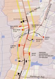 Napa Valley Winery Map Sodacanyonroad Soda Canyon Road
