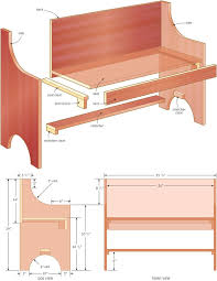 Woodworking Plans Park Bench Free by Best 25 Red Bench Ideas On Pinterest St Micro Picnic Tables
