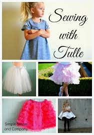 how to make a tulle skirt satin and tulle skirt tutorial simple simon and company