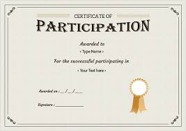 certificate of participation format 68 certificate of