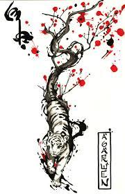 climbing tiger design