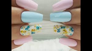 pastel nails nail art in pastel colors youtube