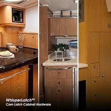 whisperlatch cam latch cabinet hardware itc rv