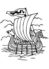 viking ship coloring page coloring page drakkar img 18669