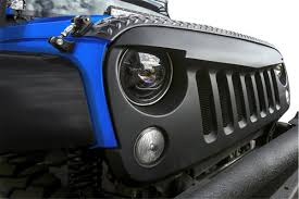 jeep hood accessories angry bird sport front hood grille 07 17 jeep wrangler jk