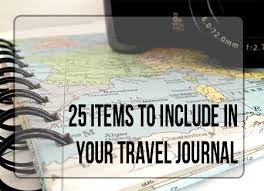 travel photo album 25 things to include in your travel journal