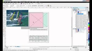 corel draw x6 rutor creating calendars in coreldraw x6 youtube
