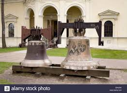 large church bells in the garden of st s church wilanow