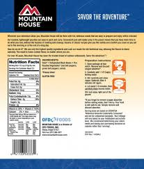 Mountain House Food by Mountain House Freeze Dried Fire Roasted Vegetables