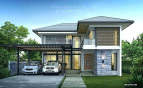 modern style house thai style house design modern plans home wooden old and designs