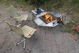 sit around grill table snow peak jikaro table drifta cing 4wd
