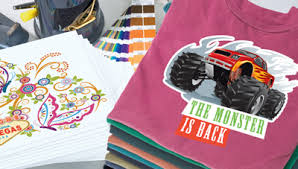 comparing screen printing direct to garment printing heat