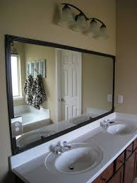 bathroom mirror quick fix diy shanty 2 chic