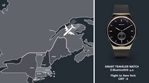 smart traveler images Bering smart traveler bluetooth watch automatic time zone jpg