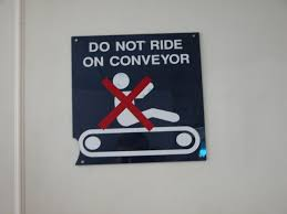 guide in operating conveyors lessons in braking lockout and