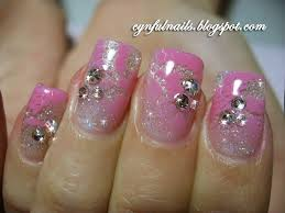 cynful nails airbrushed lace design