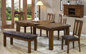 Dining Stunning Dining Room Table Sets Dining Table With Bench And - Rustic dining room table set