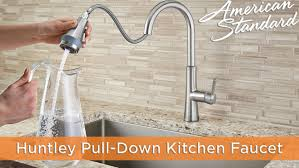 Pulldown Kitchen Faucets Huntley Selectflo Pull Down Kitchen Faucet By American Standard