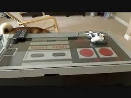 Nintendo Controller Coffee Table Giant Nes Controller Coffee Table Youtube
