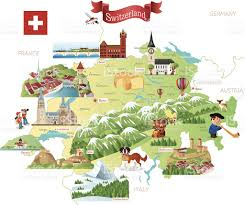 Swiss Map Swiss Culture Clip Art Vector Images U0026 Illustrations Istock
