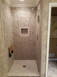 551 best bathroom pebble tile and stone tile ideas images on