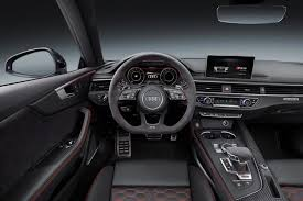 C63 Coupe Interior 2017 Geneva Motor Show Audi Rs5 Coupe Debuts To Take On Bmw M4