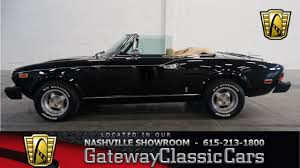 1979 fiat spider 2000 gateway classic cars of nashville 31