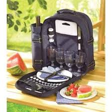 Wine Picnic Basket Complete Picnic Basket Insulated Backpack Ice Chest Wine Cooler