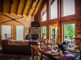 luxury log cabin for two to six w tub homeaway dryfork
