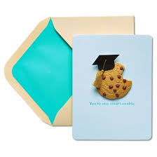 papyrus you re one smart cookie graduation card with dimensional