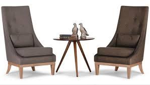 High Back Armchair High Back Chair Mebel Furnato
