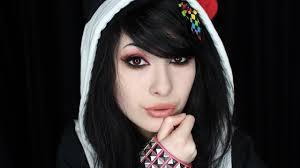 emo scene queen makeup tutorial youtube