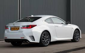 lexus sports car rc lexus rc f sport 2015 uk wallpapers and hd images car pixel