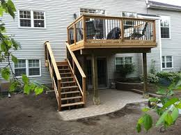 Open Patio Designs by Covered Deck Ideas Trailer Remodels With Screened Porch New Screen