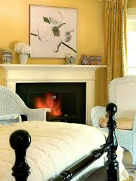 Black And White And Yellow Bedroom Photo Page Hgtv