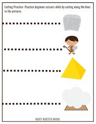 ten commandments preschool printables u2013 mary martha mama