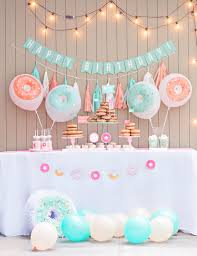 donut party love the donut balloons and pinata dream home
