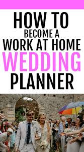 how to become a wedding planner become a wedding planner and make 2000 a month part time