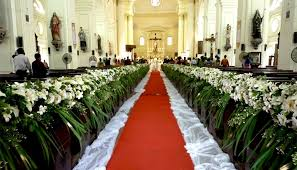 wedding church decorations amazing of church wedding flower decorations wedding flowers