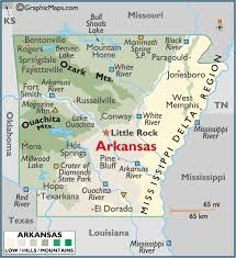 me a map of arkansas arkansas large color map things about for me