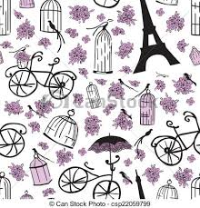 pattern clip art images seamless pattern with flowers cells and flowers seamless eps