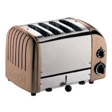 Dualit Copper Four Slice Toaster Sur La Table