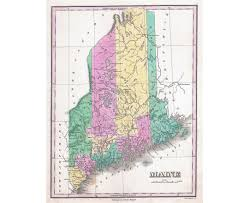 Map Of Sw Usa by Maps Of Maine State Collection Of Detailed Maps Of Maine State