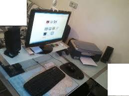 pc bureau complet pc complet tbe avec ecran et imprimante annonces gratuites